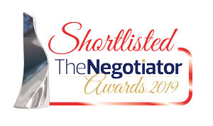 Shortlisted, The Negotiator Award 2019