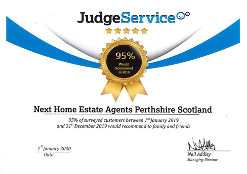 95% Judge Services Certificate